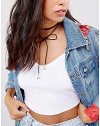 Nylon | Wrap Around Festival Choker Necklace | Lyst