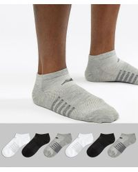 New Balance - 6 Pack No Show Socks In Multi N4010-032-6eu Gwb - Lyst