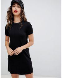 Stradivarius - Short Sleeve Dress - Lyst