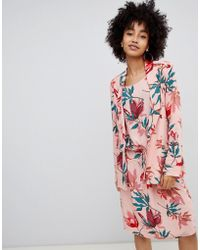 Soaked In Luxury - Tropical Print Blazer - Lyst