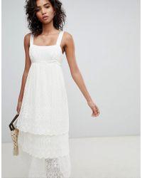 Ghost - Pretty Lace Cami Dress - Lyst