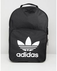 adidas Originals - Classic Backpack In Black - Lyst