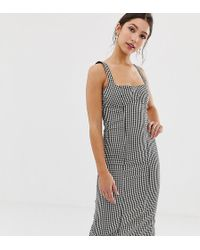 Capulet - Lola Gingham Bustier Bodycon Dress - Lyst