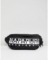 Napapijri - Happy Bum Bag In Black - Lyst