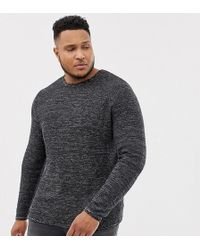 Only & Sons - Knitted Jumper With Structure Detail - Lyst