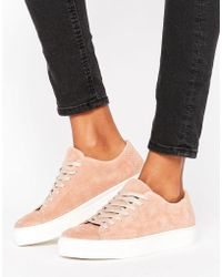 SELECTED - Femme Donna New Suede Sneaker - Lyst