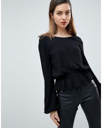Ivyrevel - Open Back Top With Soft Pephem - Lyst
