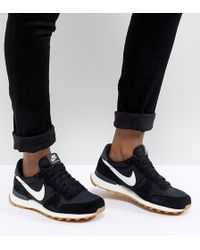 ecfecb80fd3e Nike - Internationalist Nylon Trainers In Black And White - Lyst
