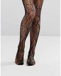 Pretty Polly - Abstract Net Tights - Lyst