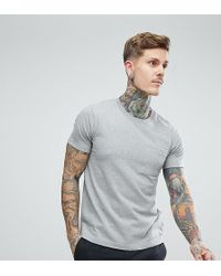 Nudie Jeans | Co Kurt Worker T-shirt Grey Melange | Lyst