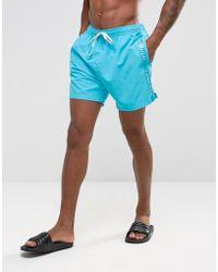 CALVIN KLEIN 205W39NYC - Logo Tape Drawstring Swim Shorts - Lyst