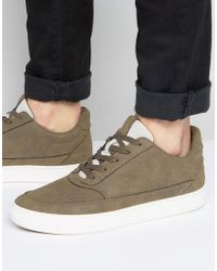 SYSTVM - Mid Trainers In Taupe - Lyst