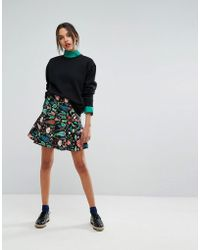 Essentiel Antwerp - Obolary Short Skirt - Lyst