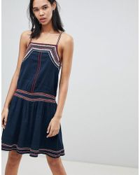 Pepe Jeans - Ise Strapp Summer Dress - Lyst
