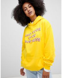 Adolescent Clothing - Mind Your Own Business Hoodie - Lyst