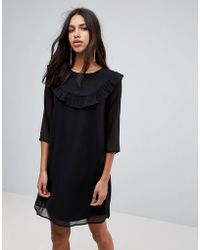 Blend She - Fella Georgette Dress - Lyst
