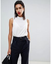 French Connection - Classic High Neck Tank Top - Lyst
