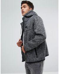 Abercrombie & Fitch | Fleece Lined Full Zip Hoodie In Black | Lyst