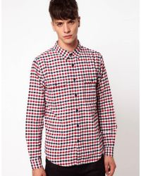 Izzue - Gingham Shirt - Lyst