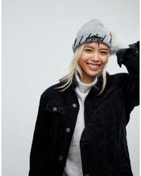 Urbancode - Lace Through Beanie Hat - Lyst