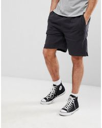 11af90c45e8c Converse Core Shorts In Grey 10002136-a01 in Gray for Men - Lyst