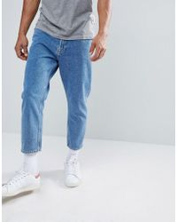 Only & Sons - Cropped Balloon Fit Jeans - Lyst