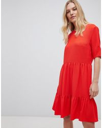 Y.A.S - Sadur Tiered Shift Dress - Lyst