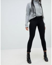 ONLY - Boom Mid Rise Skinny Jeans - Lyst