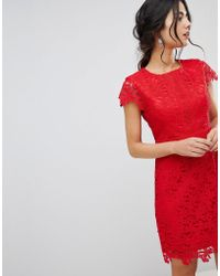 Forever New - Lace Midi Dress - Lyst
