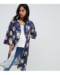 Bluebelle Maternity - Floral Printed Kimono - Lyst