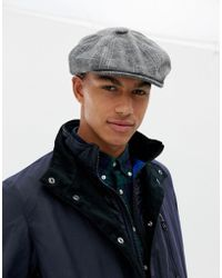 831fa3bfde3 Lyst - New Look Faux Suede Cap In Gray in Gray for Men