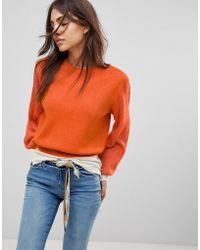 Free People - Let It Shine Oversized Knit Jumper - Lyst