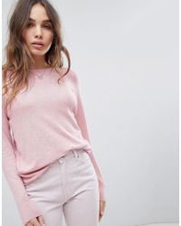 ONLY - Long Sleeve Lightweight Sweater - Lyst