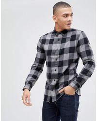 Only & Sons - Checked Shirt - Lyst