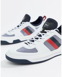 Polo Ralph Lauren - Court 200 Stripe Trainers - Lyst
