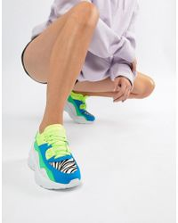 Jeffrey Campbell - Bright Panelled Chunky Trainer - Lyst