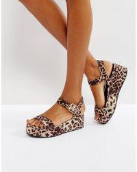 ASOS | Toucan Wedge Sandals | Lyst