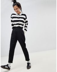Pull&Bear - Double Button Pants - Lyst
