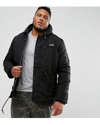 Schott Nyc - Plus Dubon Insulated Parka In Black - Lyst