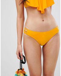 Pimkie - Strappy Side Detail Bikini Brief - Lyst