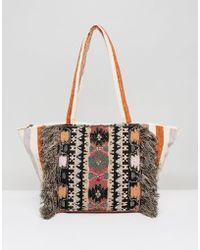 Raga - Bonita Embellished And Tassel Shoulder Bag - Lyst