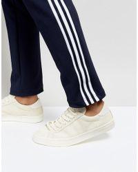 adidas Originals - Court Vantage Trainers In Beige Bz0433 - Lyst