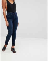 Salsa - Glamour Push Up Mid Rise Skinny Jean - Lyst