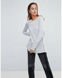 ASOS - Long Sleeved Swing Top - Lyst