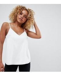 ASOS - Asos Design Petite Eco Swing Cami With Double Layer - Lyst