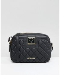 Love Moschino - Quilted Cross Body Bag - Lyst