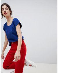 Esprit | Basic Organic Cotton Tshirt | Lyst