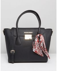 Silvian Heach - Tote Bag With Scarf Detail - Lyst