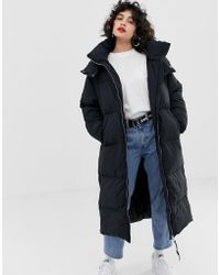 Tommy Hilfiger - Oversized Tube Quilted Coat - Lyst