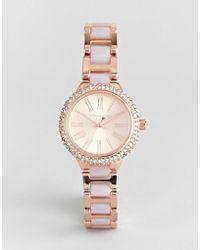Michael Kors - Mk6582 Taryn Bracelet Watch In Rose Gold - Lyst